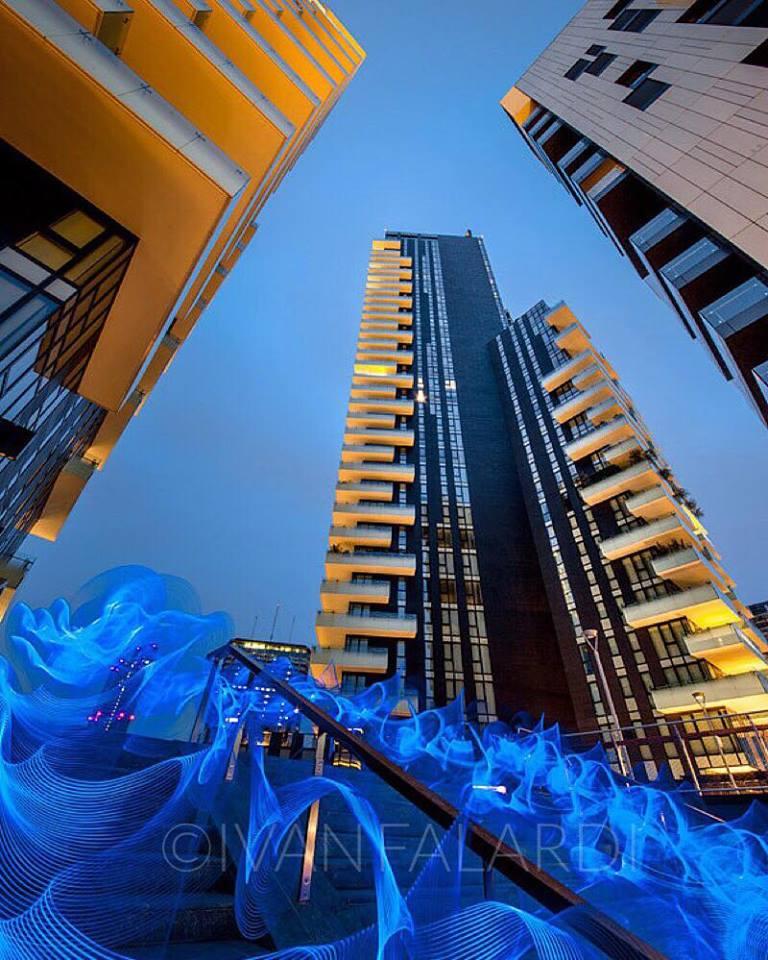 Let's Light Milan. Gli scatti di Ivan Falardi all'Urban Center di Milano