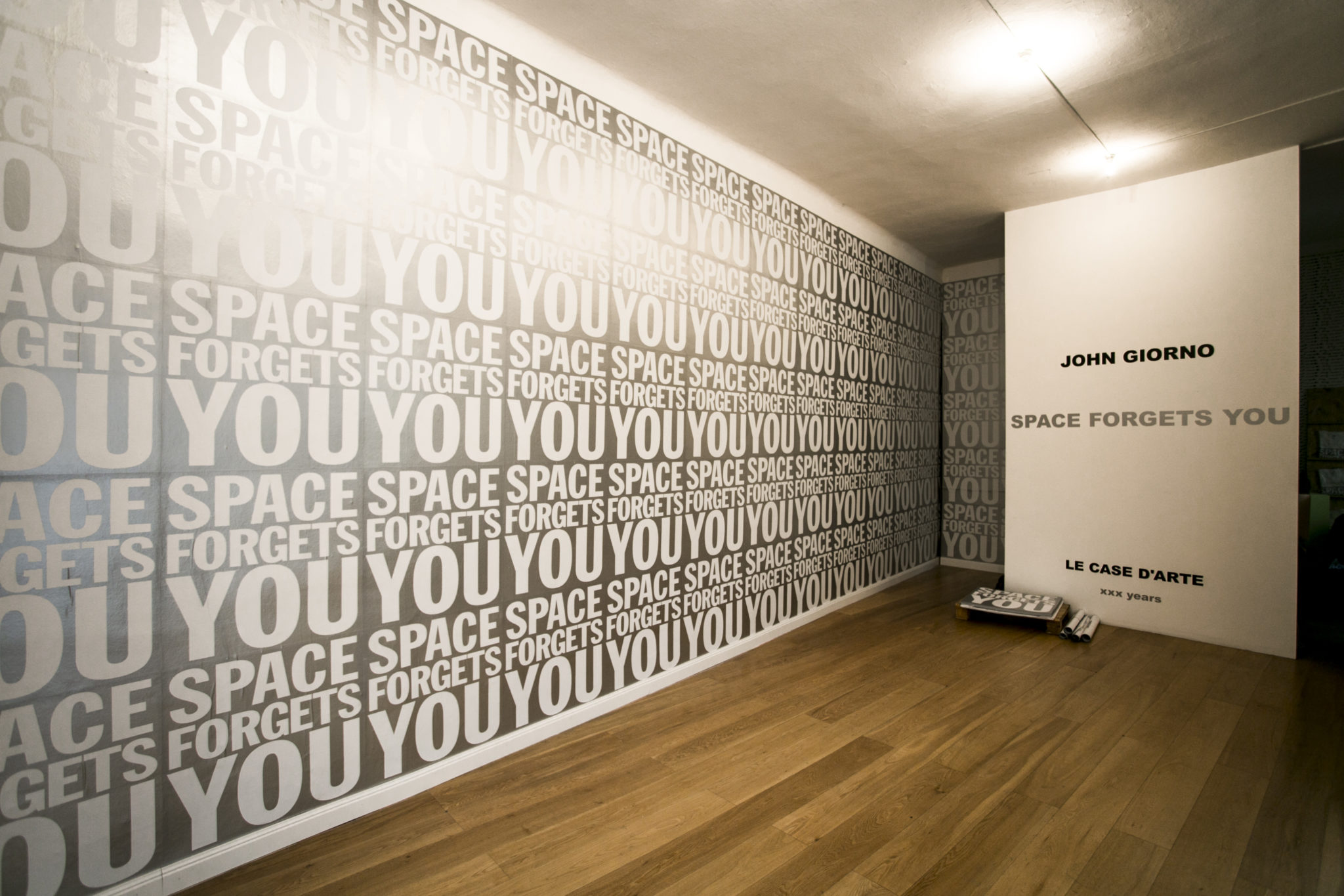 Space Forgets You. John Giorno a Milano