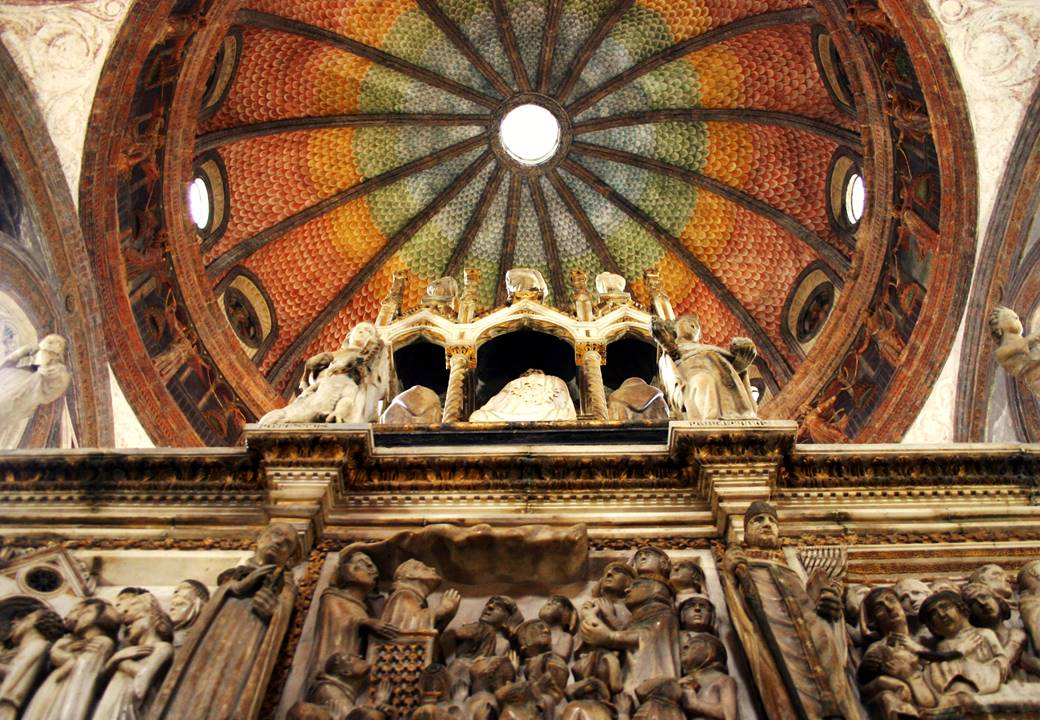 Un giardino sintetico per le volte rinascimentali di Sant'Eustorgio