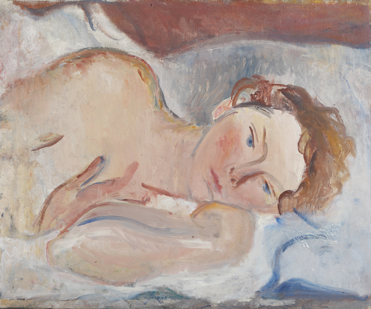 Osvaldo licini. ritratti di famiglia. Ritratto della moglie 1925