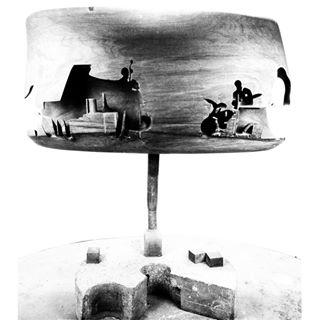 Mario Giansone, Modern Jazz Quartet, 1968 legno Mostra Mario Giansone
