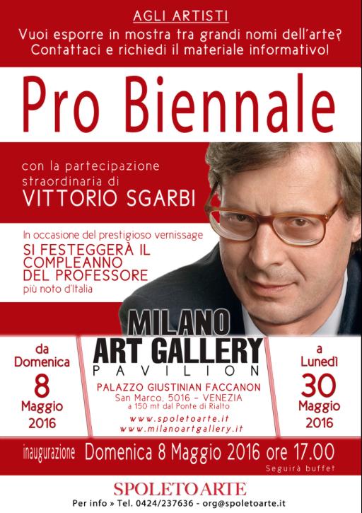 Pro Biennale: in arrivo la seconda edizione