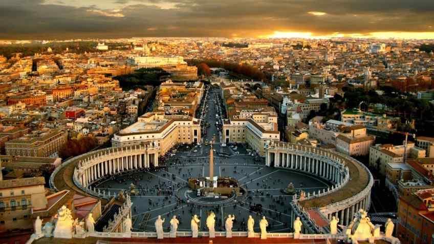 San Pietro e le Basiliche Papali in 3D