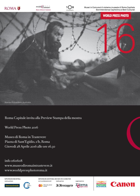 World Press Photo 2016. Al via la mostra a Roma