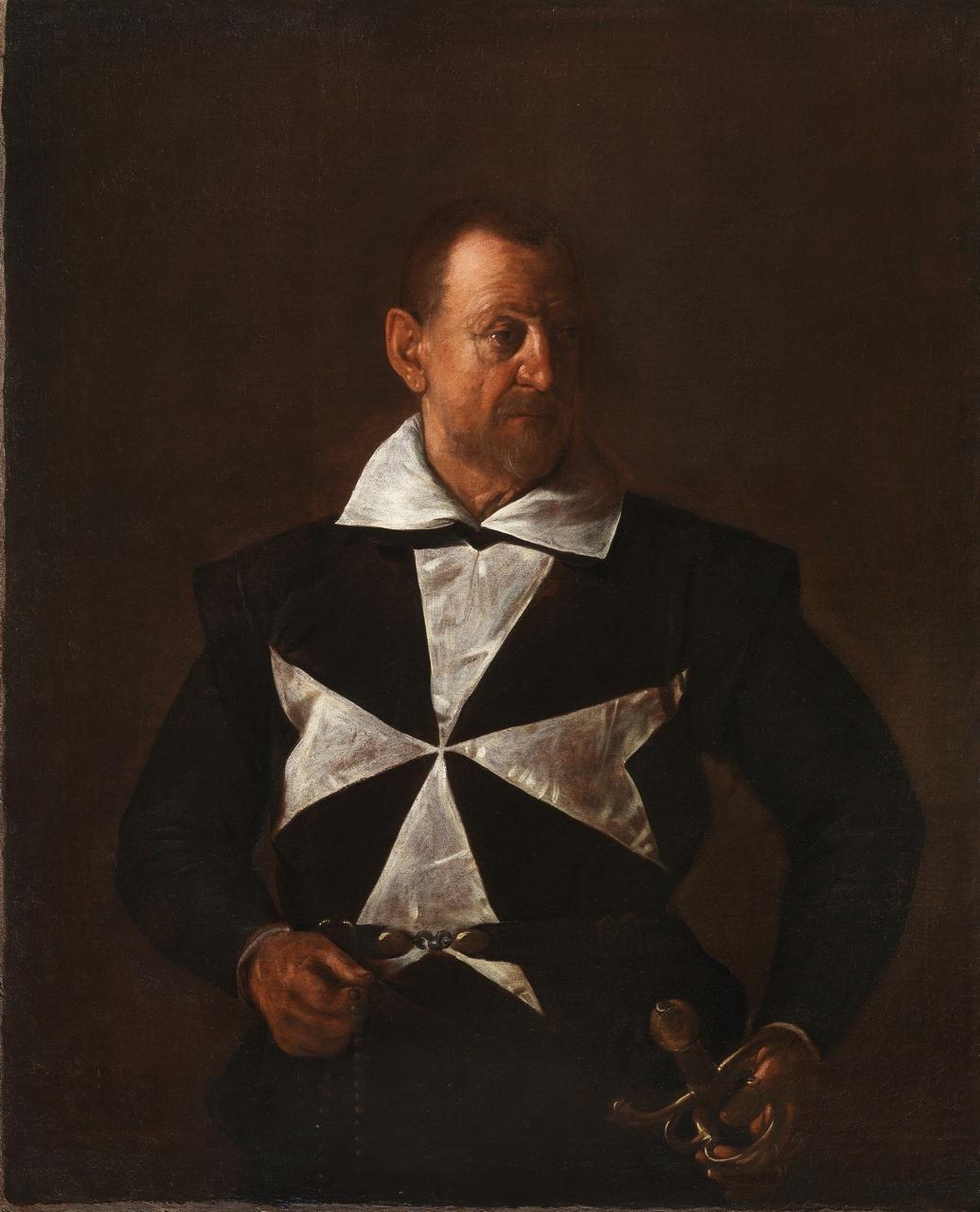 Michelangelo Merisi detto Caravaggio, Ritratto di cavaliere di Malta, 1608