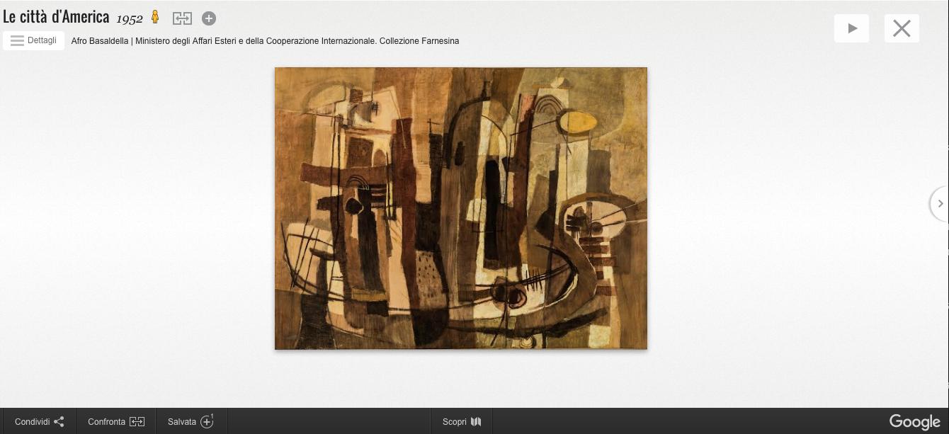 """""""Collezione Farnesina"""" online sul Google Cultural Institute"""