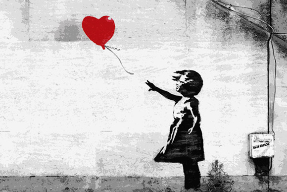Girl with ab Balloon - Banksy-1