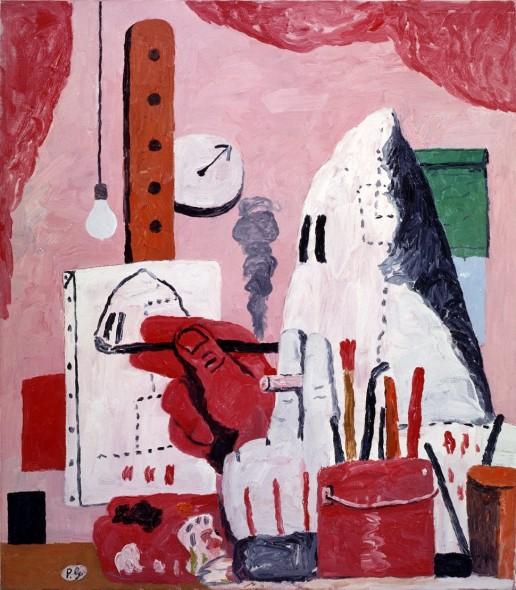Philip Guston, The Studio
