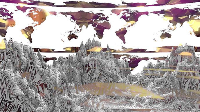 Lino Strangis, Metaphysical Orogeny, 2016 (1)