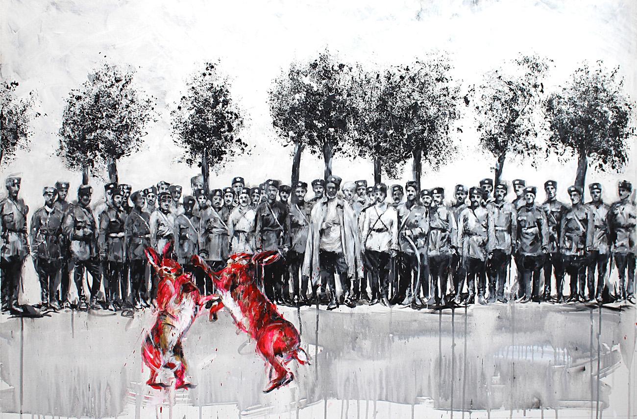 Leila Vismeh, dal ciclo The Hunting (La Caccia), 2014-'16