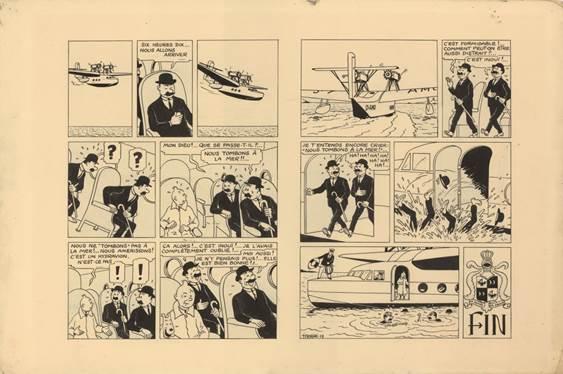 Tintin da Record! 1 milione di euro all'asta da Artcurial