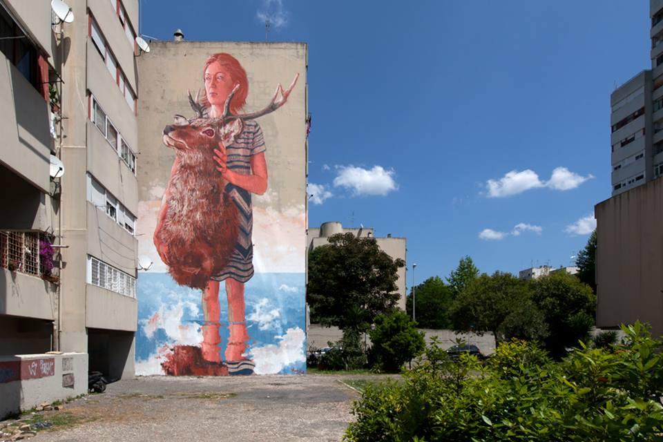 FINTAN lo street artist australiano in mostra a Roma