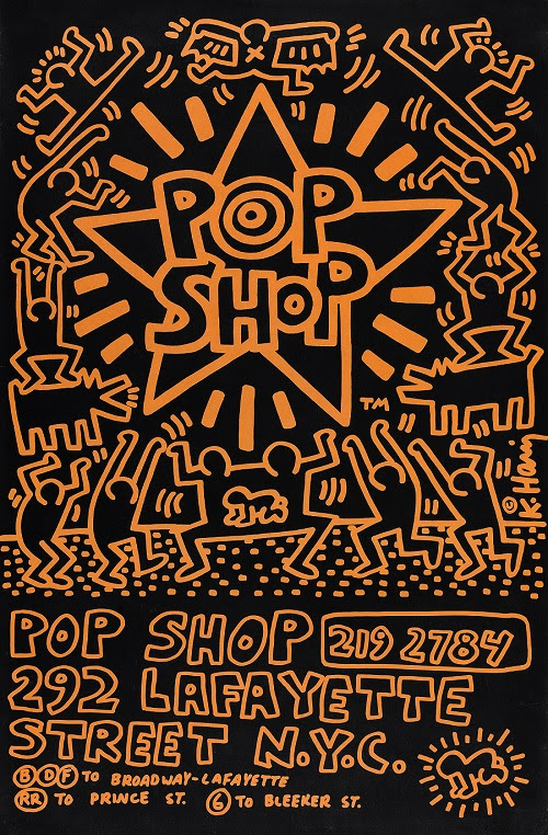 Keith Haring, Pop Shop