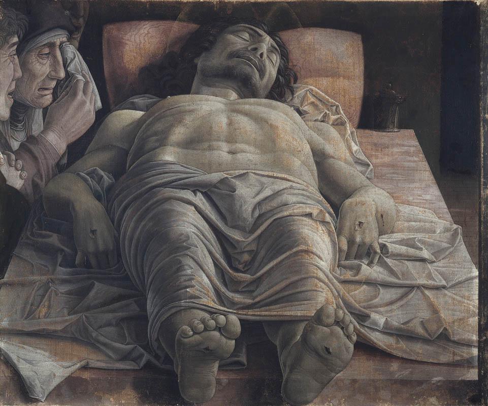 Andrea Mantegna Cristo morto