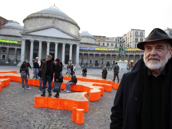Pistoletto a Napoli: il Mediterraneo per 'amare le differenze'