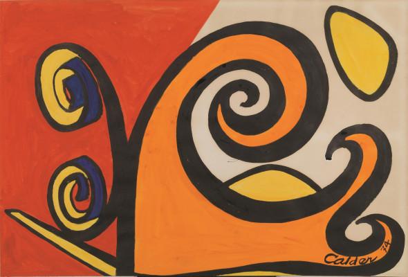 Tutti venduti i Calder in asta da Pandolfini a Milano