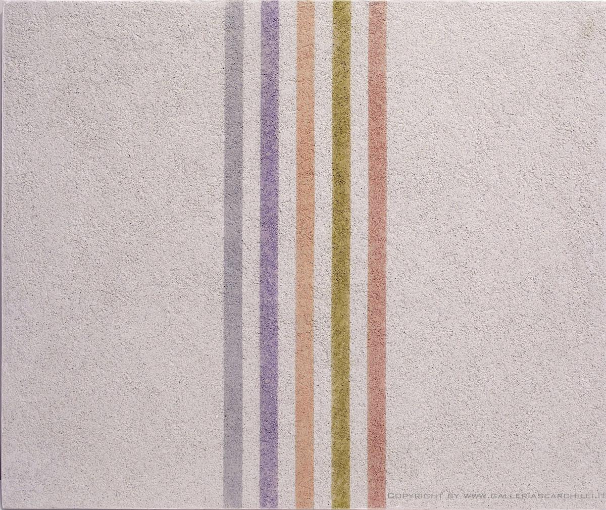 Colore, supporto, materiale. Gli anni della pittura analitica a Verona