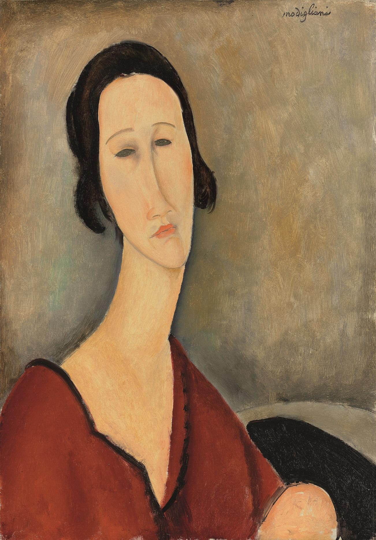Ancora Modì all'asta. Da Christie's il ritratto di Madame Zborowska stima £5-7 milioni