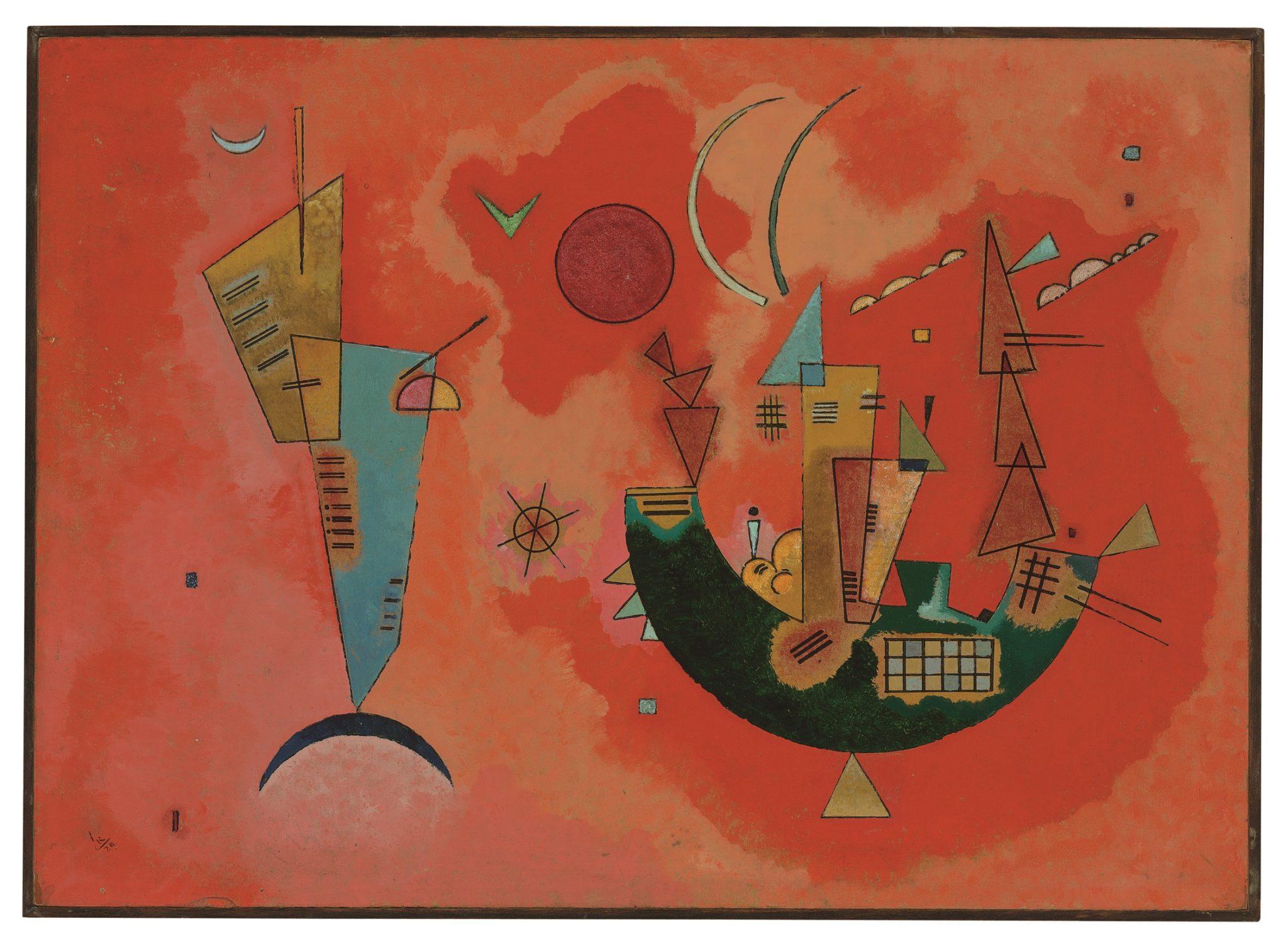 W.Kandinsky, Mit und Gegen,