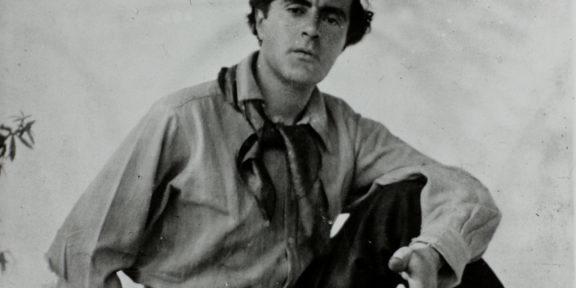 Fotografia con dedica donata da Amedeo Modigliani a Jeane Hébuterne, 1918