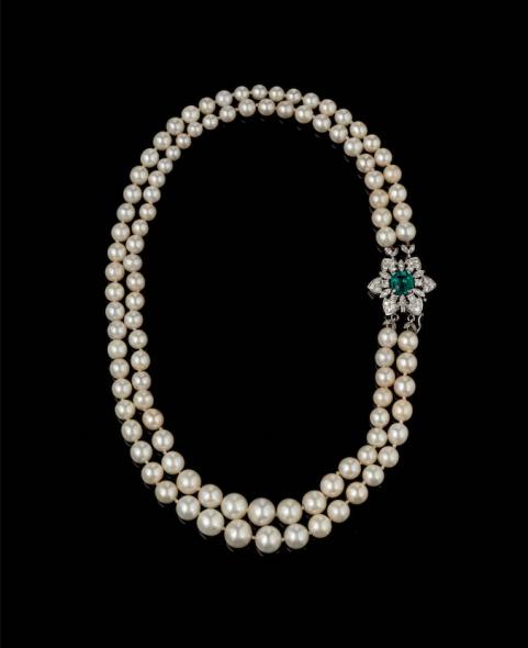 1.054.000 € per una collana di perle da Wannenes