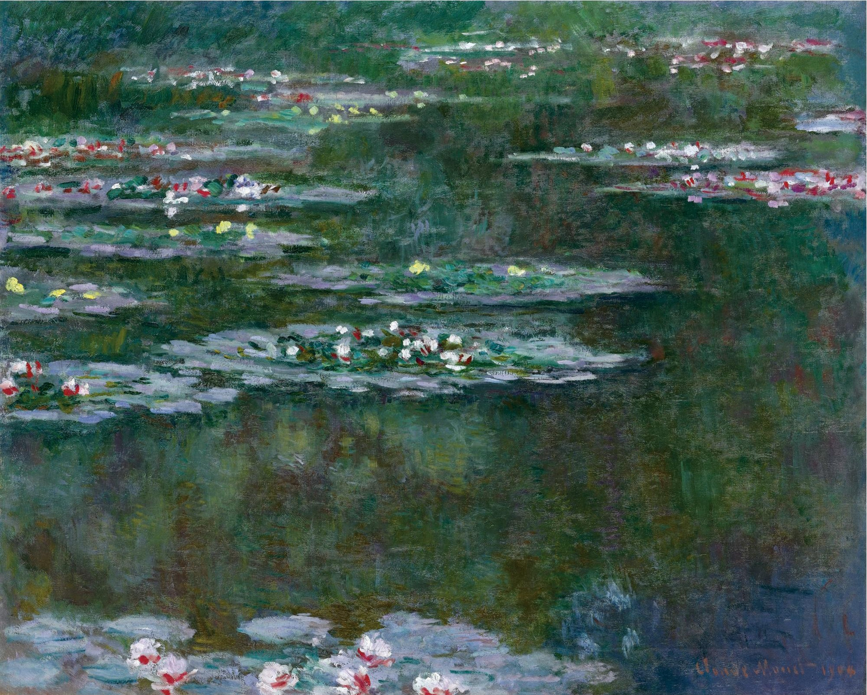 C.Monet, Ninfee 1904