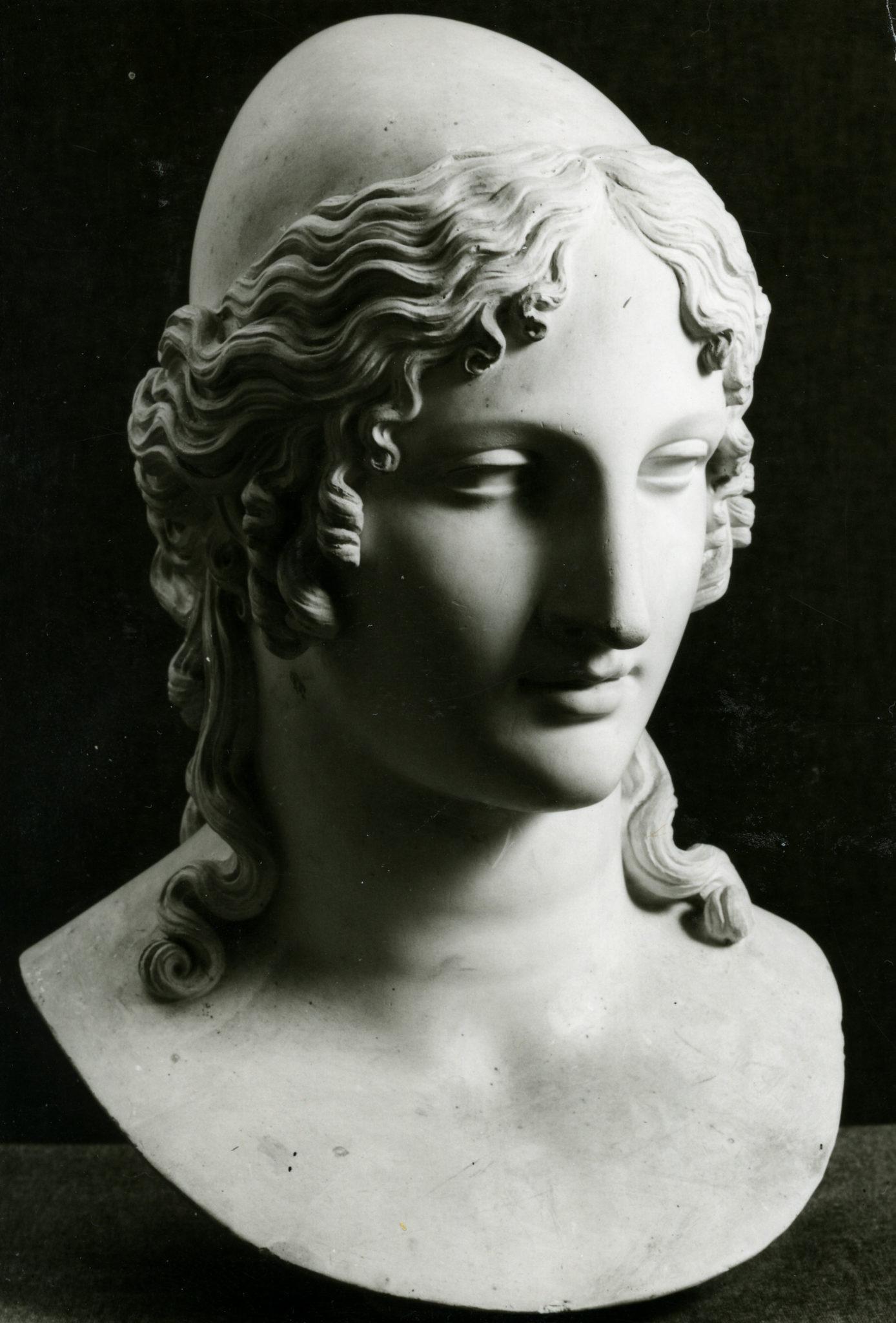Antonio Canova Testa ideale di Elena 1816-1817 calco in gesso, 62 cm (h) Bassano del Grappa, Museo-Biblioteca-Archivio, inv. S 58