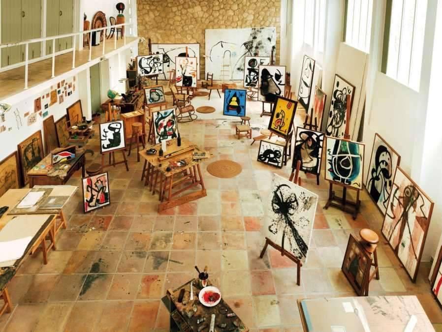 Studio di Joan Mirò a Maiorca