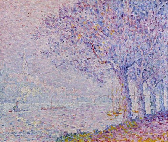 Riflessi sull'acqua. La poetica di Paul Signac si riverbera a Lugano