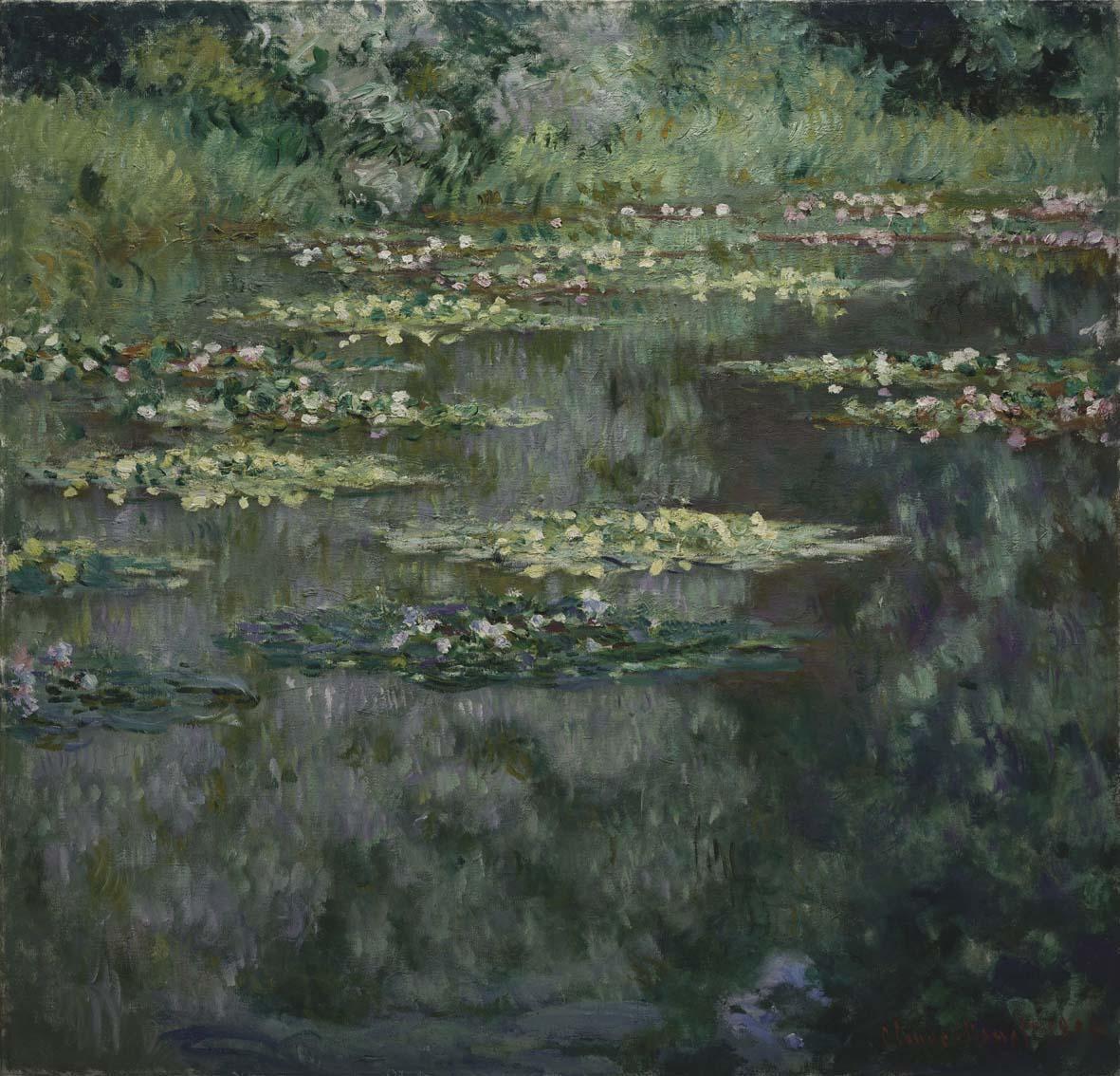 Claude Monet Ninfee Parma Informale