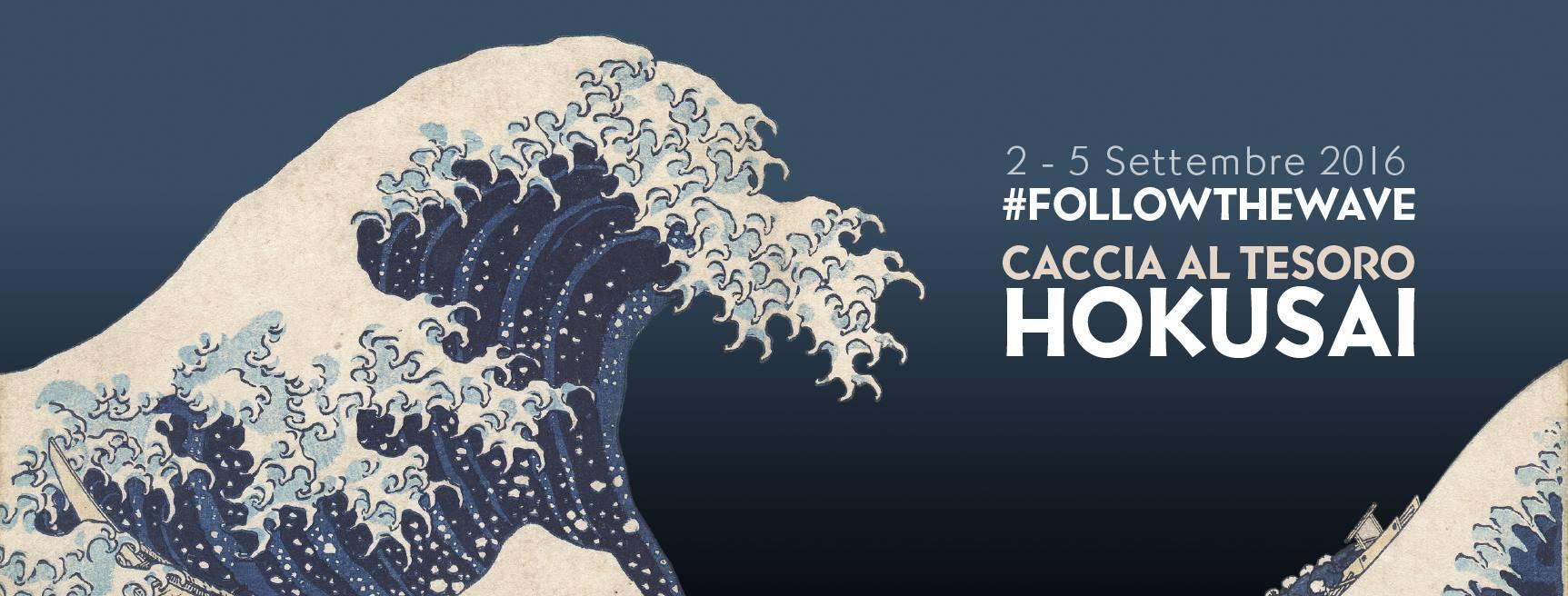 #followthewave: parte la caccia al tesoro di Hokusai