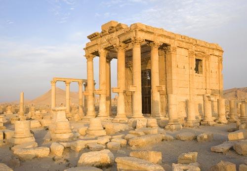 Il tempio di Palmira