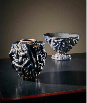 Axel Johann Salto Sommervase stima₤ 40.000-60.000e The italian bowl stima ₤ 50.000-70-000₤