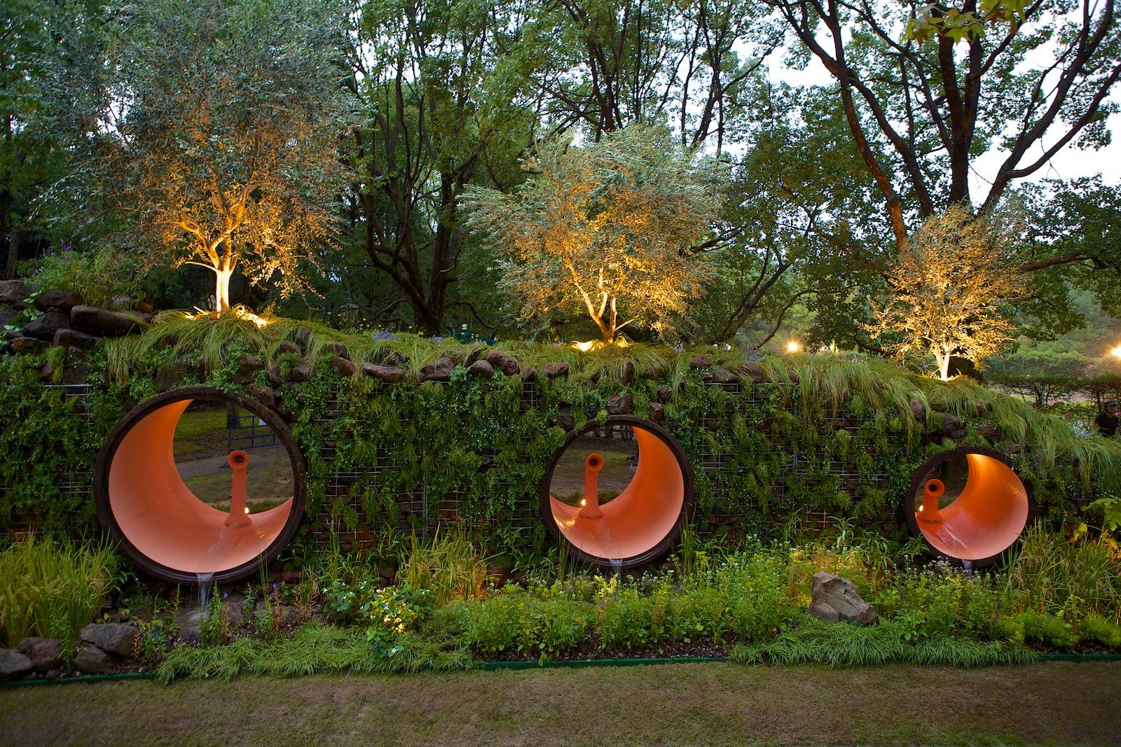 Giardino di Stegano Passerotti al gardeninn world cup japan, foto di Pietro Fantoni
