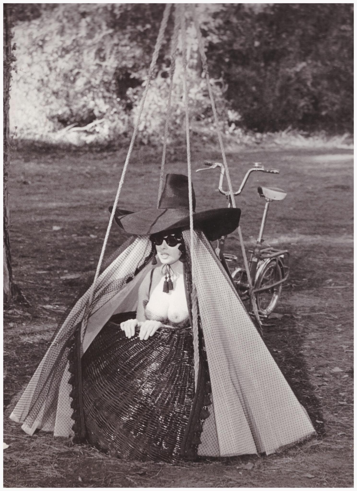 Milo sul set di Giulietta degli Spiriti, 1965 - Foto Franco Pinna 2