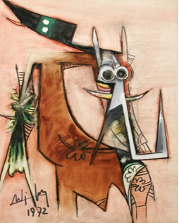 Wifredo Lam, Here on Earth¸1955
