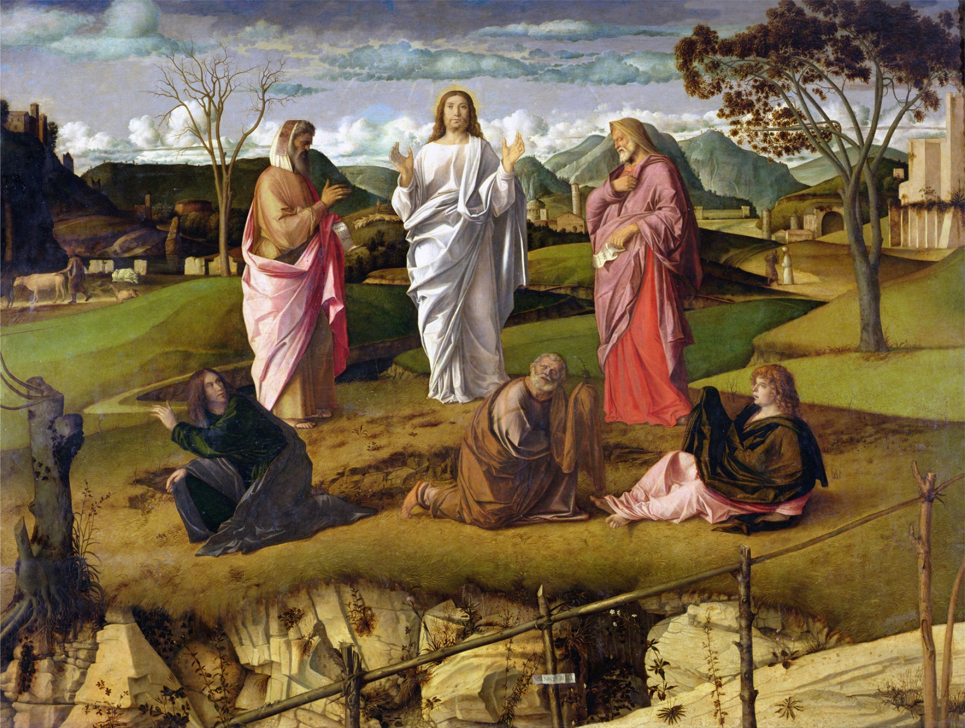 La trasfigurazione di Cristo - G. Bellini