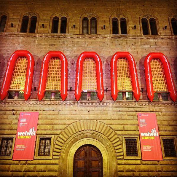 Ai Weiwei a Palazzo Strozzi. Galeotto fu il canotto