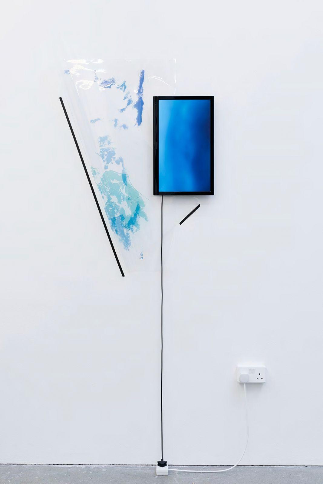 Marco Strappato RCA Show '15, 2015 veduta dell'installazione, Royal College of Art, Londra