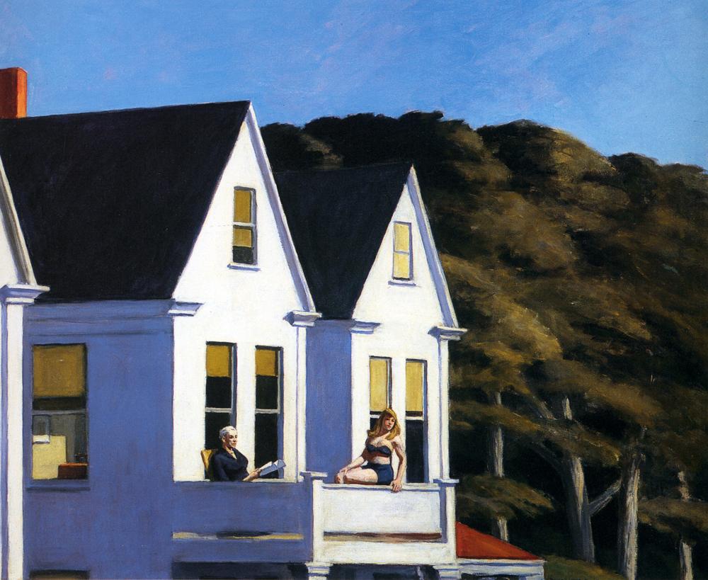 Edward Hopper, Second story Sunlight,1960