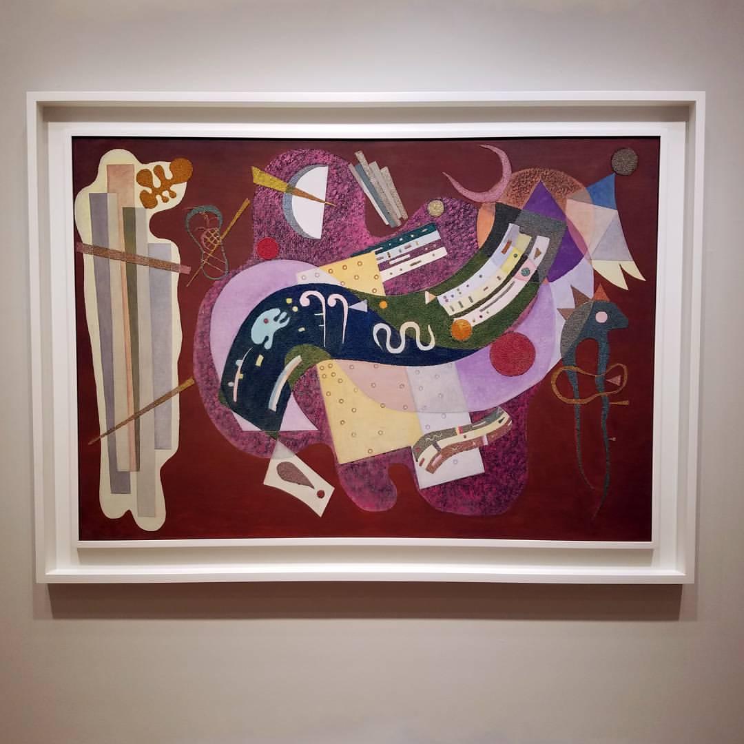 Rigide et Courbé Kandinsky