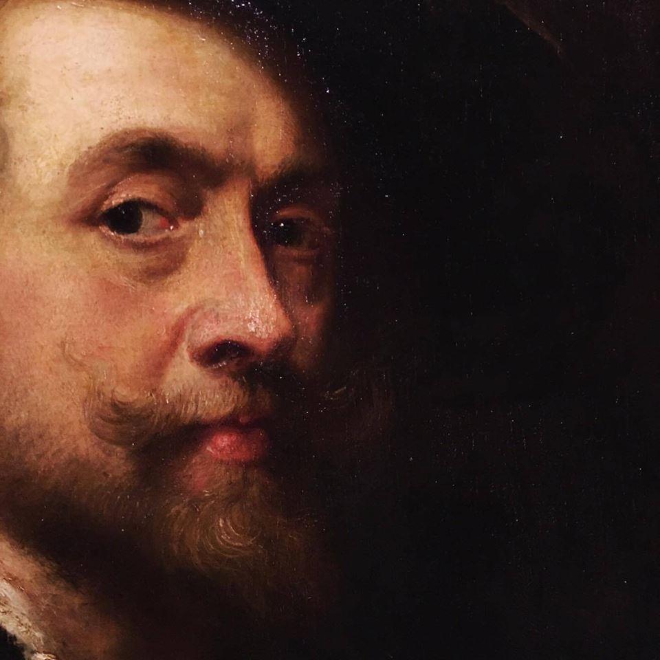 Dettaglio Pietro Paolo Rubens - Autoritratto (1626