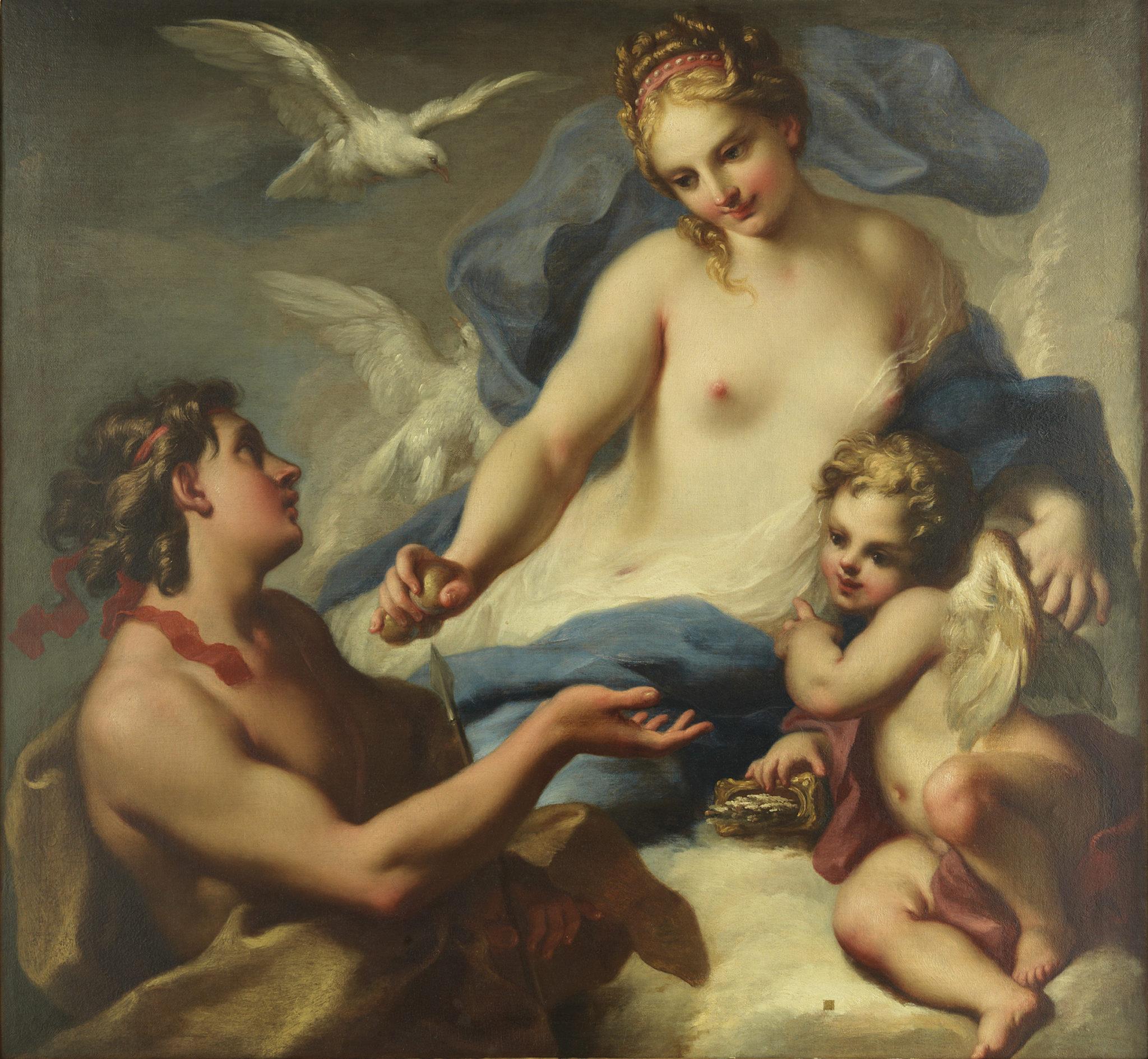 Venere Ippomene Galleria d'antiquariato Torino