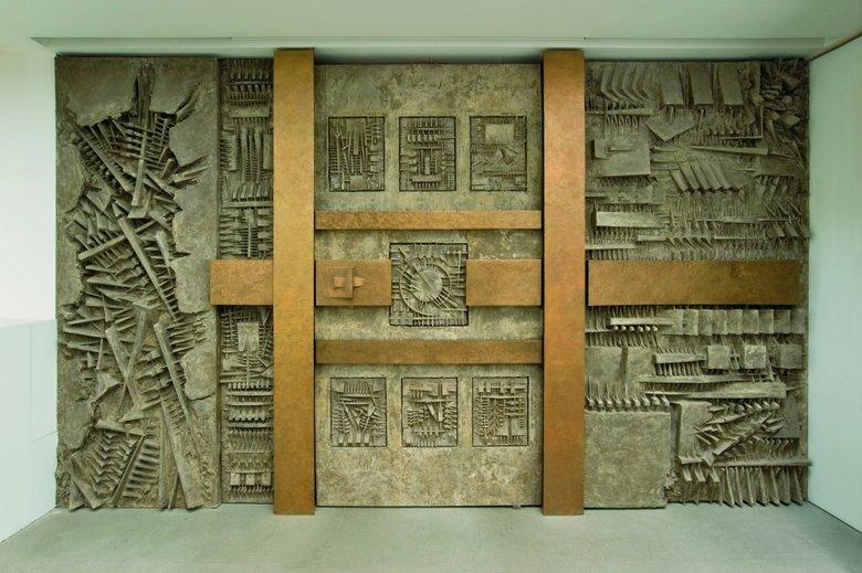 L'ingresso del labirinto Arnaldo Pomodoro