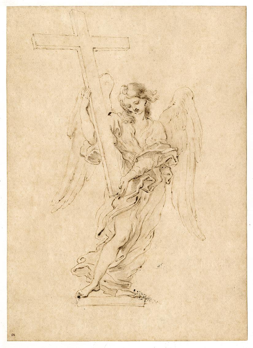 l'Angelo con la croce di Ponte Sant'Angelo