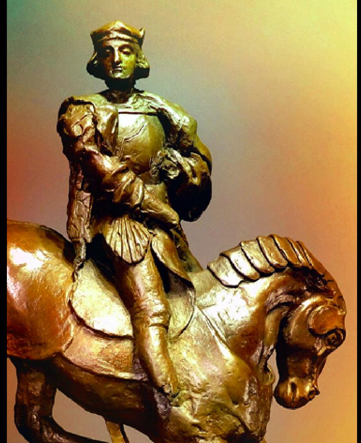 Leonardo da Vinci Horse and rider Charles d'Amboise