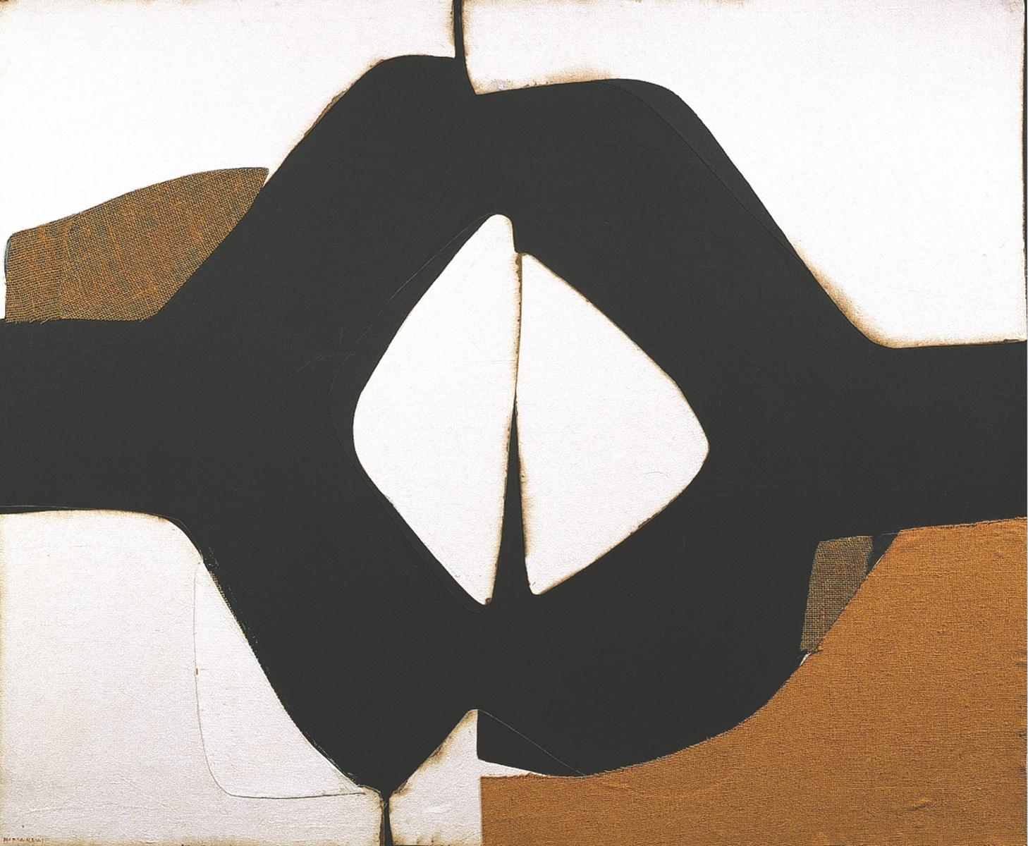 Marca-Relli Conrad - L-9-74 1974 - collage and mixed media on canvas - 152,4 x 182,9 cm