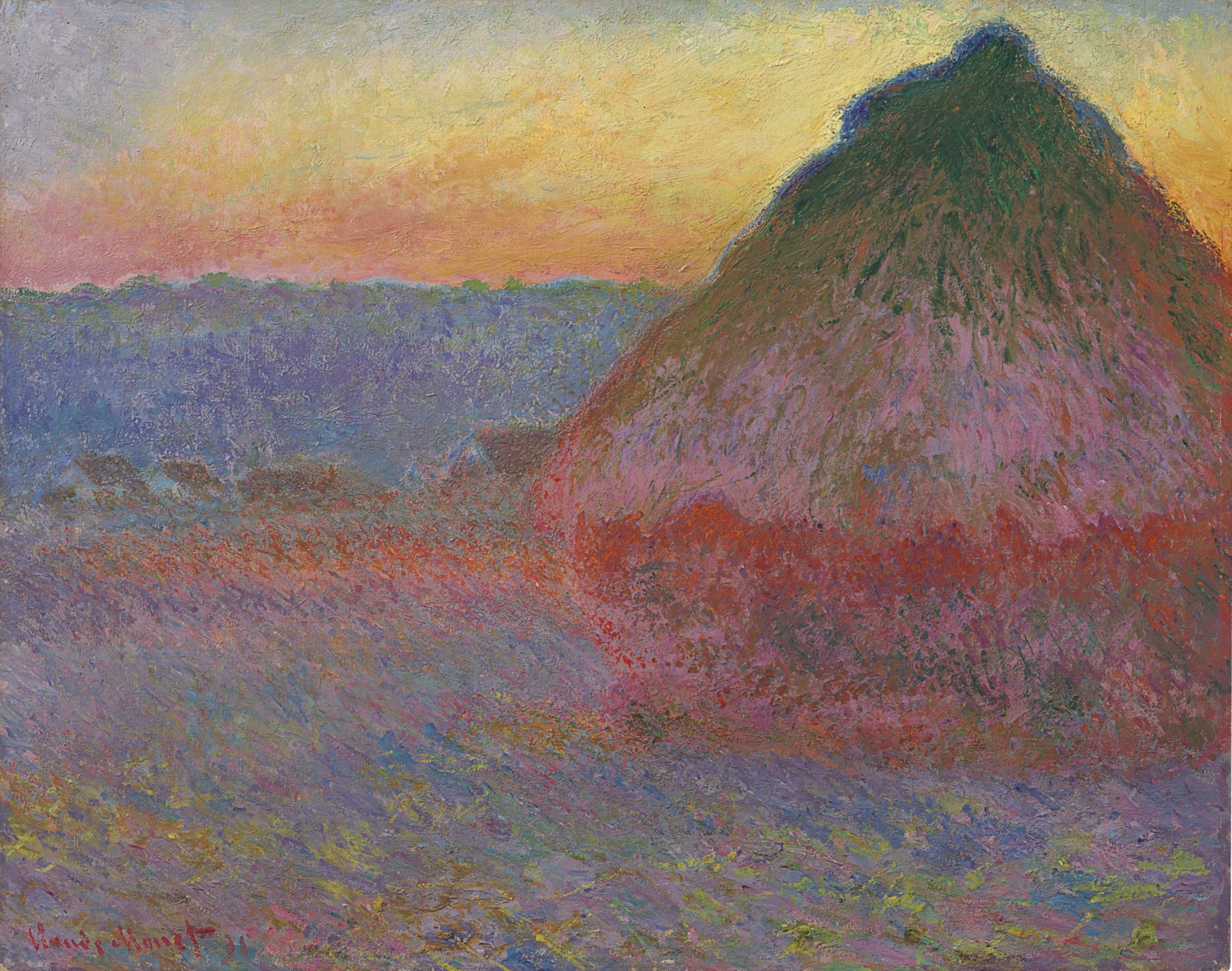 Un Monet da 45 milioni $ da Christie's. Della serie dei covoni