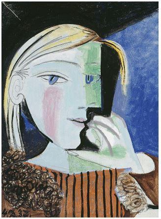 Pablo Picasso - ritratto di Maria Teresa