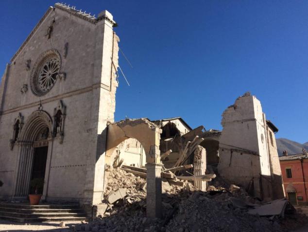 basilica di San Benedetto di Norcia